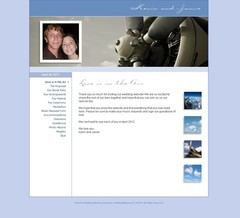 Wedding Website - Jamie and Kevin