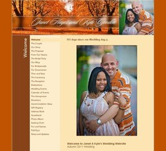 Wedding Website - Janet & Kyle Gooden