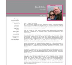 Wedding Website - Lina Wilson
