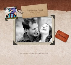 Wedding Website - Skabar Wedding