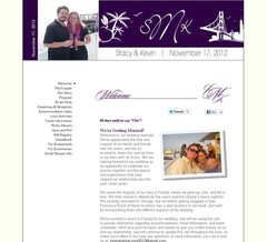 Wedding Website - Time After Time....