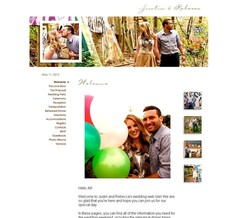 Wedding Website - The Gwedding 2012