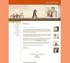 Wedding Website - Baki/Quirk Wedding