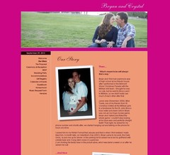 Wedding Website - Crystal & Bryan