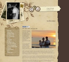 Wedding Website - Casey & John