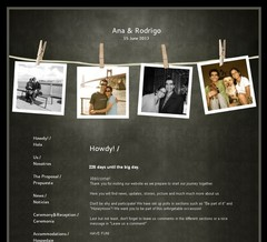Wedding Website - Ana & Ro