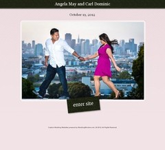 Wedding Website - Our WEDsite!