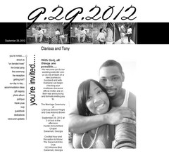 Wedding Website - Meet the Browns