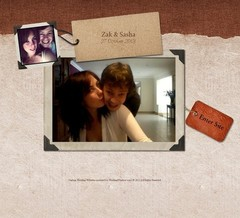 Wedding Website - zakandsasha