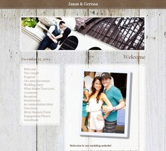 Wedding Website - J&G